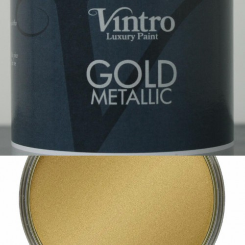 Vintro Metallic Gold